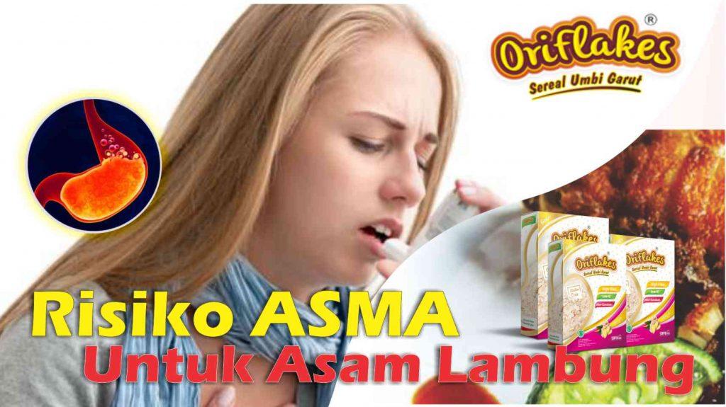 Risiko Asma Untuk ASAM LAMBUNG